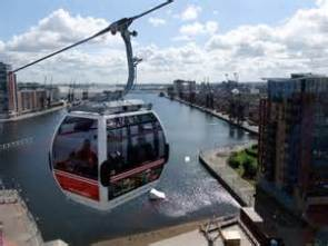 Emirates Air Line Cable Car (London, England)