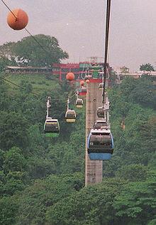 Singapore Cable Car (Sentosa, Singapore)